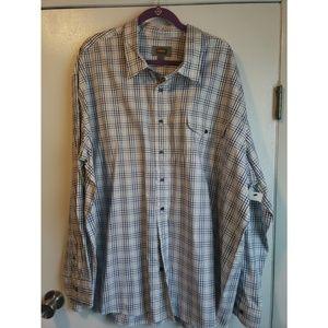 NWT- Big Mens Button Up Shirt